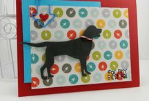 Dogs / Celebrate Man's Best Friend with cards and crafts made with dog dies.