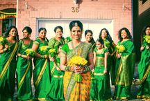 tamil bride and bridemaids