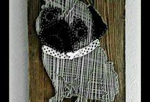 String art pug
