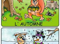 1.les saisons