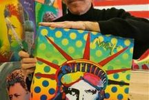 Artist - Peter Max / by Jeanne