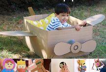 caixas brinquedos para crianças