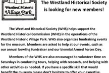 Westland Historic Village Park Applications and Forms