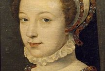 Ladies of honuor to the Queen of France Catherine de Medici