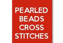 Pearler beads cross stitches