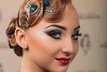 Dancer make up style