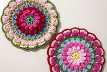 Mandala - Crochet Patterns / These are all free, and easy to download. No hidden links or hunting! :)