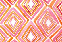 Pink and Orange / by Vicki