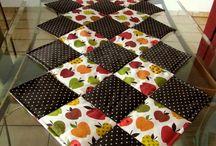 Trilhos de patchwork