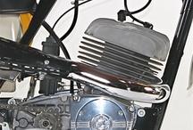 Motorcycles of the Czech Republic and Czechoslovakia / Čezeta , Jawa