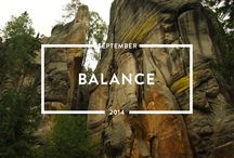 Balance - September 2014 / Read the #balance issue of mindful matter http://www.holstee.com/blogs/mindful-matter / by HOLSTEE