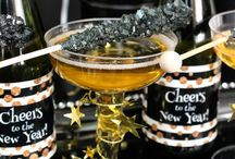 New Year's Eve Event Ideas / Celebrate New Year's Eve with personalized favors, fun noisemakers, and elegant decorations!