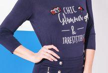French Pop - Collection Printemps-Eté 2018 / Un look tricolore en bleu-blanc-rouge très urbain pour un dressing féminin qui renouvelé les codes de l'esprit marin. #jemesensbelle