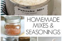 homemade spices and Herbs