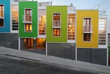 Hus fasader...