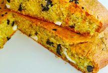Zeytinli Mısır ekmeği / Lezzetli