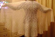 Shawls / tricot, crochet