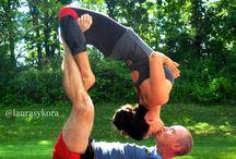 yoga - couple yoga
