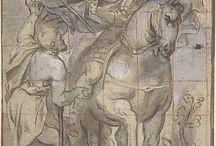 Saint Martin... dans le monde / Saint Martin (316-397), surnommé l'apôtre des campagnes, fut le troisième évêque de Tours. De multiples artistes l'ont représenté au cours des siècles, de multiples églises, chapelles, villes... portent son nom le monde entier. En voici quelques représentations... non exhaustives !