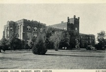 Catawba, Historically / Photos from days past at Catawba College.