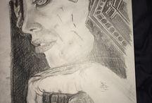 Practice drawings