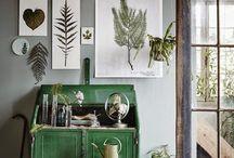 Frames botanical etc