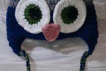 Cuellos Con Color, Humor y Calor / GORROS Y CUELLOS HECHOS CROCHET http://eltejadodelatatagata.blogspot.com.es/