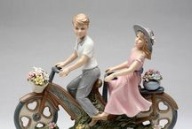 Vehicles Wedding Cake Toppers / These Unique Cake Toppers feature Cars, Motorcycles, Bicycles, and Boats!