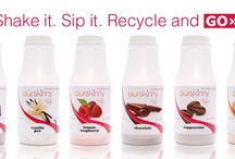 OurSkinny Shakes / Shake it. Sip it. Recycle and Go!