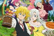 Anime. Nanatsu no Taizai (The Seven Deadly Sins )
