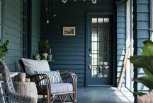 Sommarstugan - stora verandan