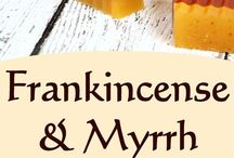 Myrr and frankincense soap