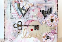 Paper Crafts-Canvas/Mix Media / by Nadine Davis