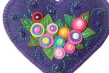 Felt Crafts / by Lynne Hayward