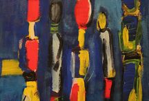"Dagmar Reymer Paintings & More / Mail Art ""Mir ist so Dada im Kopf"" 2016 und andere Bilder"