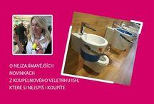 Novinky z koupelnového veletrhu ISH, Frankfurt, 2017
