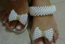 sandalias luz
