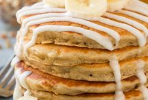 Breakfast (Sweet) Recipes to try / @PattySaveurs - All kinds of coffee cakes, pancakes recipes from around the world that I would like to try, or recipes I have done and shared already...