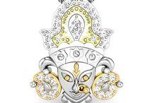 Hindu Devotional Collections / Hindu Devotional Collections - Durga Pendants,Om rings,Trisul Pendants,Trisul Rings