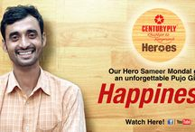 CenturyPlyHeroes / Nothing delivers more joy than spending the puja festival with your family. And no one knows it better than our #cplykkrheroes #UnsungHeroes
