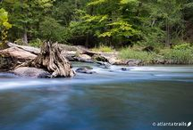 Atlanta's Top 10 Hikes / Our top 10 favorite hikes within 40 miles of Atlanta, Georgia explore beautiful forest, rolling terrain and scenic rivers & creeks near Atlanta.