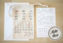 Save The Dates, Will You Be My... And Invitations