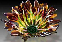 Glass & clay ideas