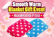 ▷ OKDGG is giving away warm lap blanket for those of you purchase over $120 during this event. / ▷ You'd better hurry to be the first 1000 customers for this first-served basis!! ▷http://www.okdgg.com/board/view/?id=387