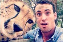 Selfies / On adore poser avec nos animaux de compagnie... quand d'autres préfèrent poser avec des animaux sauvages... bref, la mode des selfies est aussi chez les animaux !
