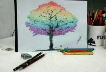 my arts / minhas pinturas e desenhos