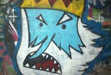 Graffiti walls / Muros decorados con graffitis