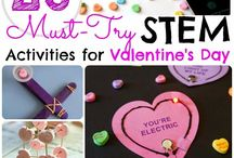 Valentine's Day Theme / Educational ideas about Valentine's Day. Valentine STEM, Valentine literacy activities, hands-on Valentine activities, and more!