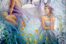 Hada ,duende y bruja