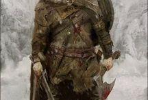 Cavaleiros, guerreiros / Suas habilidades de combate são únicas, prontos para grandes feitos no campo de batalha ou para morrer com seu nome esquecido, sem eles nenhum exército está completo.
